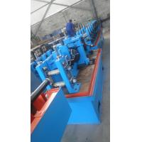 China High Speed Flexible Carbon Steel Pipe Making Machine 1.0mm - 2.0mm Thickness on sale