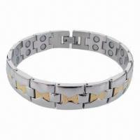 China Wholesale Egypt Style Hot Selling Bracelet, Made of Stainless Steel/Titanium Materials on sale