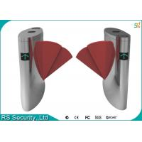 Wholesale Double Wings Optional Flap Barrier Gate Bi-directional Access Control from china suppliers