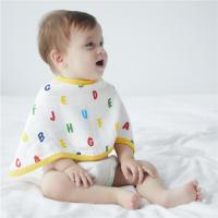 Wholesale Waterproof Long Muslin Burp Cloths Multi Design For Toddlers Eight Layers from china suppliers