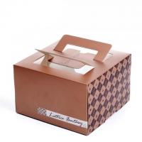 Wholesale Best Quality Food Grade Paper Made Cake Packaging Box from china suppliers