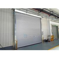 Exterior interior insulated roll up industrial security