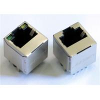 Wholesale 1X1 Vertical  Entry RJ45 Modular Jack LPJE681XDNL , 8P8C Shielded RJS-D0610-5NN-35 from china suppliers