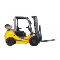 Buy cheap 2 Ton Gasoline Powered Forklift LPG Dual Fuel 41kw 6000mm Lifting Height from wholesalers