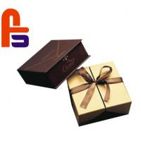 China High End Design  Recyclable With Silk Ribbon Accessories Cardboard Gift Boxes for sale