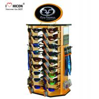Wholesale Shopper Marketing Sunglasses Display Commercial Wooden Sunglass Display Stand from china suppliers