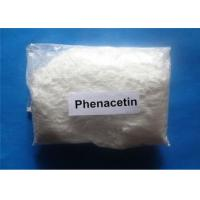 Wholesale Phenacetin Pain Killer Powder For Analgesic And Antipyretic , CAS 62-44-2 from china suppliers