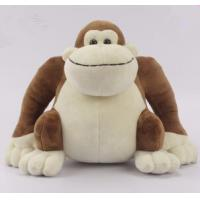 Wholesale Customized Plush toy manufacturer big mouth brown promotional monkey toy from china suppliers
