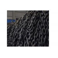 Buy cheap Durable G80 EN818-2 Lifting Anchor Chain Alloy Steel Black Oxidation 20MN2 25MNV from wholesalers