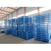 Wholesale Environment Lightweight Strong Rackable Steel Pallets For Warehouse Storage from china suppliers