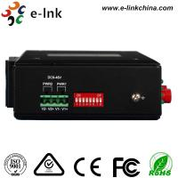 China Hardened 4Ch Industrial Fiber Media Converter RS232/RS422/RS485 With 2 SFP Fiber Port on sale