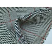 Wholesale 100% Polyester Cotton Yarn Dyed Fabric / Grey Striped Fabric Eco - Friendly from china suppliers