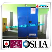 Wholesale 60 Gallon Corrosive Storage Cabinets Flameproof For Hydrochloric Acid / Acetic Acid from china suppliers