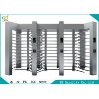 Wholesale Automatic Waterproof Full Height Turnstile Dual Access Control System from china suppliers