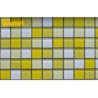 Wholesale 8mm Thickness Bathroom Crystal Glass Mosaic Tiles With Sea Shell Style from china suppliers