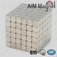 Wholesale education toys 5x5x5mm sintered ndfeb magnets from china suppliers
