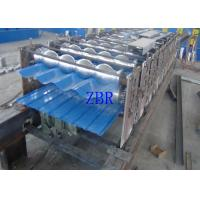 Wholesale Hydraulic Automatic Steel Tile Roll Forming Machine CNC Controlling System from china suppliers