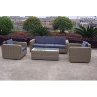 Buy cheap Round wicker rattan garden outdoor sofa set high-end quality sofa set from wholesalers