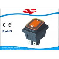 Wholesale Waterproof 4 Pin Rocker Switch , KCD4-130FS On - Off Replacement Rocker Switch from china suppliers