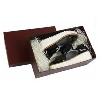 Wholesale Ladies Drop Front Shoe Box , Custom Packaging Boxes Unique Design from china suppliers