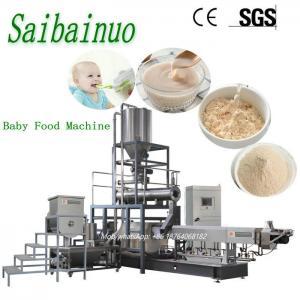 China Nutritional Instant Maize Porridge Baby Powder Food Making Machine on sale
