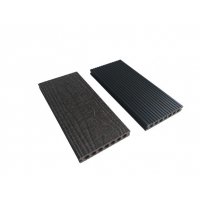 China ISO 9001 Embossed 140mm 23mm 5.8m WPC Composite Decking Board on sale