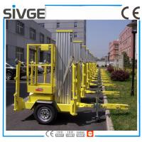 Wholesale 630 * 650mm Platform Mobile Elevating Work Platform 8 Meter For Auto Stations from china suppliers