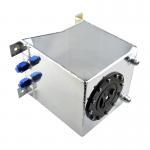 10L aluminum universal complete Fuel Swirl Pot 10 litre fuel surge tank