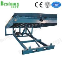 China Stationary Loading Dock Ramp , Forklift Dock Ramp For Loading Cargo 15 Tons Capacity for sale