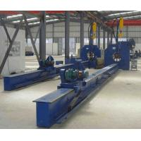 China Light Pole Longitudinal Seam Welder 3m/min With Gas Shield Welding for sale