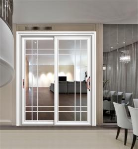Wholesale 80x35 concave surface aluminum door manufacturer sliding door aluminium slide door provide many colors from china suppliers