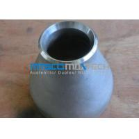 Wholesale ASTM A815 / ASME SA815 F51 / F53 Duplex Steel Eccentric Reducer Pipe Fitting from china suppliers