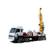 Wholesale Truck Mounted Top Head Water Well Drilling Rig 8 X 4 Heavy Duty By Mud / Air Compressor Drilling from china suppliers