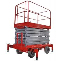 China 12 Meters Mobile Scissor Lift Hydraulic X Lift Platform For Work At Height on sale
