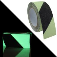 China Non Skid Adhesive Tape, Black Green Anti Slip Tape Glow in Dark for Stairs Tread Step for sale