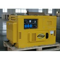 KDE12T Air Cooled Silent Diesel Generator , Silent Power Generator Portable for sale