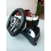 Quality 2 In 1 Bluetooth Dual Vibration Racing Games Steering Wheel For PS3 / PC for sale