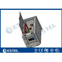 Wholesale 24U Single Wall Outdoor Telecom Cabinet With Fan Cooling Galvanized Steel Material from china suppliers