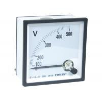 DC - V96 Analogue Panel Meters , DC Voltmeter Comply With Accuracy Class 1.5 for sale
