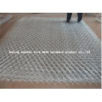 Wholesale Silver / Green Galvanised Gabion Wire Mesh For Poultry Easy Maintenance from china suppliers