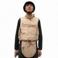 Wholesale Desert Camo Bulletproof Vest with NIJIIIA/NIJIII/NIJIV Protection Levels and Kevlar or PE Material from china suppliers