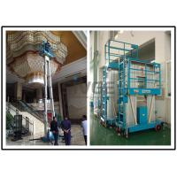 Wholesale 8 Meter Platform Height Hydraulic Lift Ladder Dual Mast For Wall Cleaning from china suppliers