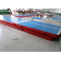 Quality Cheerleading 6m Mini Inflatable Air Track Tumbling Mat Gymnastic Equipment for sale