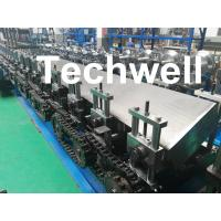 Buy cheap Steel Structure Guide Rail Cold Roll Forming Machine for Making Elevator from wholesalers