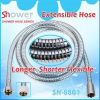 China NINGBO LEELONGS FACTORY on Stainless Steel Chrome Plating Extensible and Flexible Shower Hose on sale
