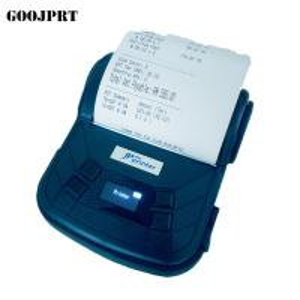 Mini Black Color Portable Printer For Mobile , Portable USB Printer 58mm Width