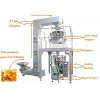 Buy cheap Automatic Weighing Filling Sealing Multi Heads Weigher Food Packing Machine from wholesalers