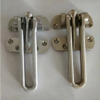 Quality Security hotel-style door guard zinc alloy latch available made of stainless for sale