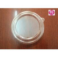 Wholesale 20oz 125mm PET Material Salad Bowl Lid With A Ear / Transparent from china suppliers