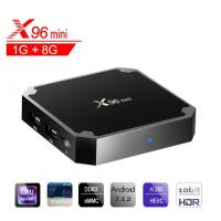 Wholesale X96 Mini Android Set Top Box Quad Core Amlogic S905W Support 4K/2K Definition from china suppliers